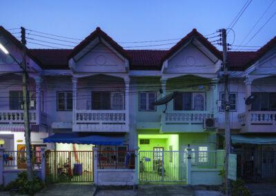 Row housing